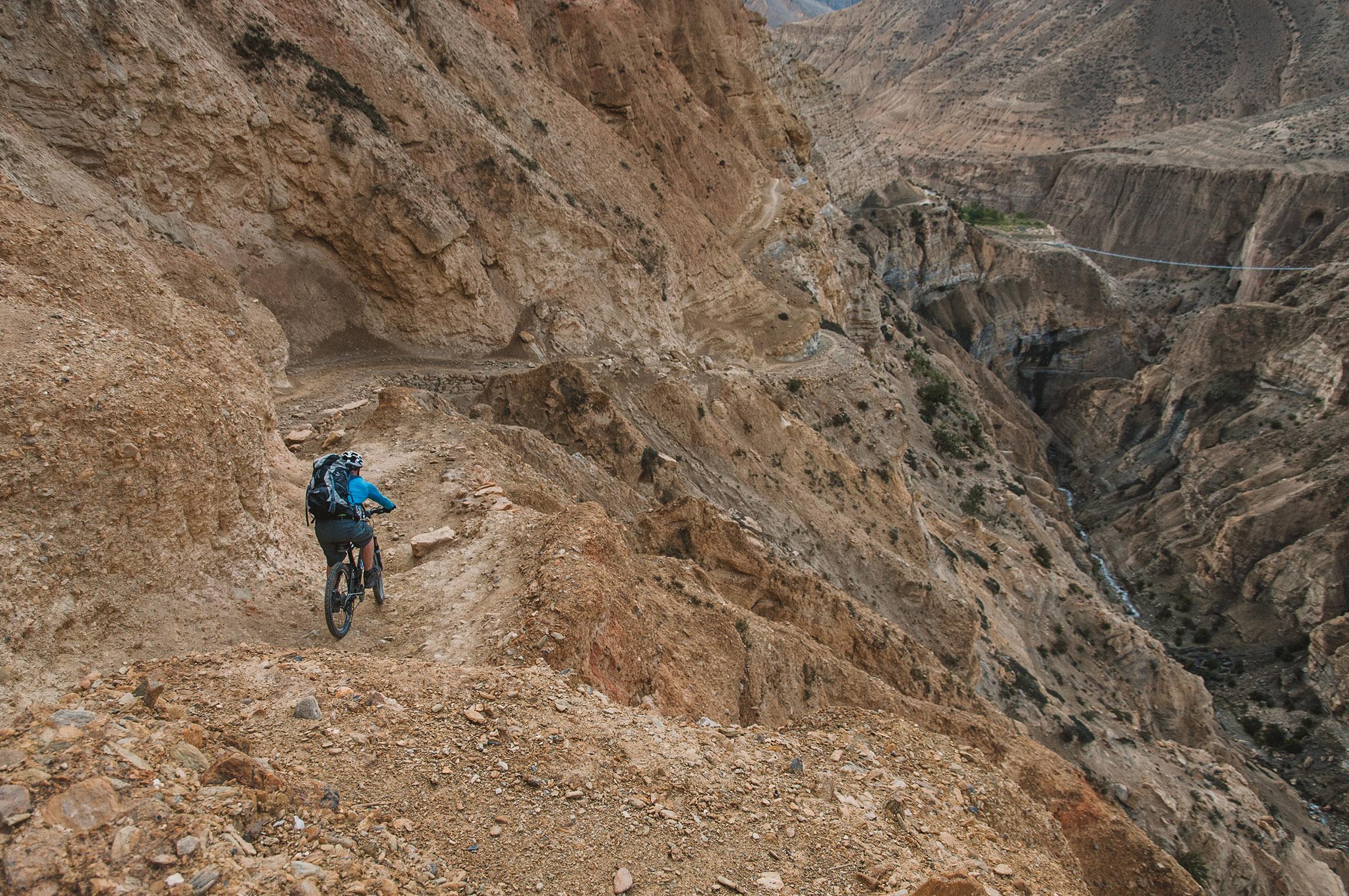 Biken in Nepal - Mustang